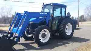 2001 tn75d 4x4 new holland tractor