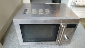 STYLISH BREVILLE MICROWAVE Silver/Chrome Finish Perfect Working Order
