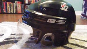 Helmet & Shin Pads