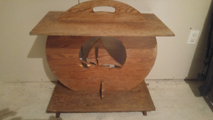 Old boat table$40