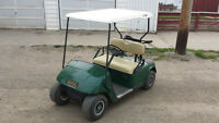 GAS OR ELECTRIC GOLF CART