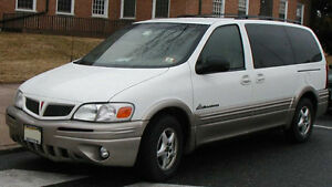Pontiac Montana 2002 NOT DRIVABLE