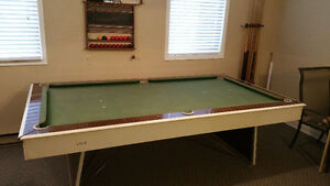 Free Large Pool or Billiard Table and related items