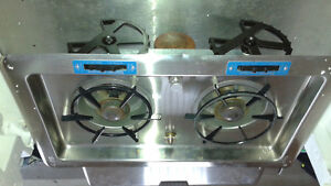 Alcohol boat stove