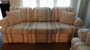 Couch, Loveseat and Ikea Carpet