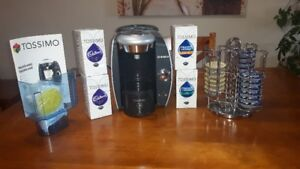 Tassimo TAS4615US coffee system, accessories and coffee for sale