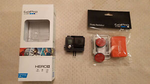 GoPro Hero+ with cases and floaty. In perfect condition