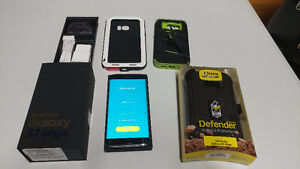 "Samsung Galaxy S7 Edge unlocked/debarre ""prix ferme"""