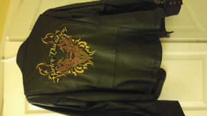 Harley Davidson womans Leather Jacket xl