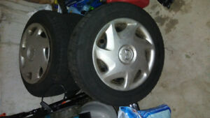 Michelin winter tires 215 60 R16  for sale $200
