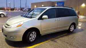 2008 TOYOTA SIENNA LE LEARTHER DVD POWER SLIDING DOOR 128654 KM