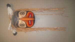 Northwest Coast Eagle Mask by Ed McDougall from Alert Bay Vancouver Greater Vancouver Area image 1
