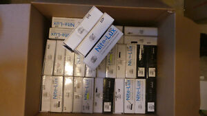 34 Boxes of Nite-Lux and Silver-Lux LED Headlights