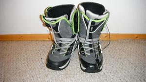 Forum Team snowboard boots.