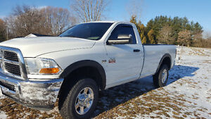 2010 Ram 2500 4X4 Pickup Truck Regular Cab