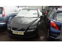 2008 Volvo C30 Sports Coupe 3Dr 1.6 100 S Petrol black Manual