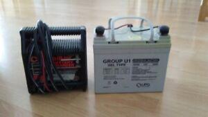 Golf Batterie et chargeur pour cart de golf