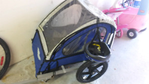 INSTEP 2-seater BIKE TRAILER. Great Condition!