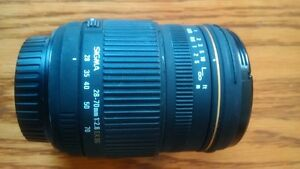 Sigma 28-70mm F2.8 Canon Mount Lens