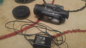 JVC Everio HDD Camcorder with Fisheye