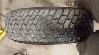 4 x P205/70R16 ice and snow tires