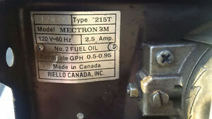 Riello Mectron 3M Oil Burner Assembly Cambridge Kitchener Area image 4