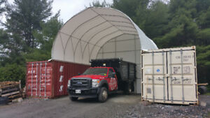 Fabric Structure / Storage Container / Coverall Building