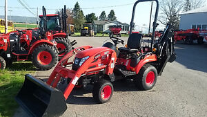 NEW - Aged Inventory KIOTI Tractor/Loader/Backhoe