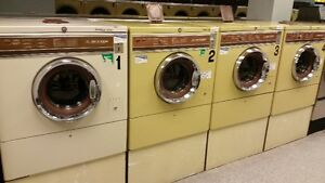 8 Dexter Commercial Washers Front Loader Coin Operated