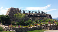 Half Acre Lot with Golf Resort and Valley Views, Predator Ridge