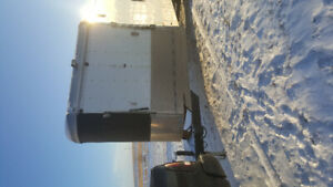 2008 Charmac sled trailer 28ft