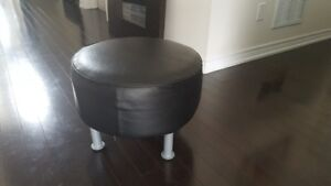 Set of Leather Stool from Ikea