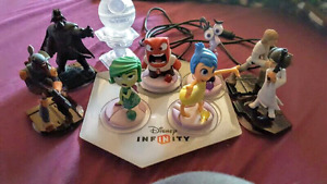 Disney Infinity and Extra Star Wars Figures