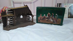 Nativity Scene complete with Stable