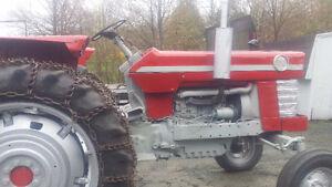 1966 Massey Ferguson 180 Diesel Farm Tractor
