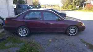 1998 Toyota Corolla 1000$ or best offer