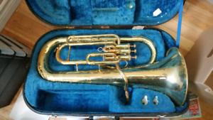 Euphonium and trombone