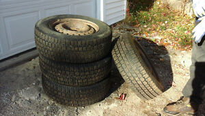 tires and rims asking $175.00