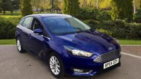 2014 Ford Focus 1.5 TDCi 120 Titanium 5dr Manual Diesel Hatchback