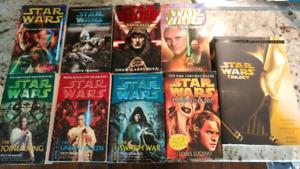 Star Wars, Dan Brown, Steve Berry, etc