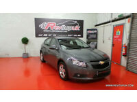 2012/12 CHEVROLET CRUZ 1.6 124BHP - ONLY 42K MILES - FINANCE £21PW