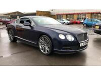 2013 Bentley Continental GT Speed 6.0 W12 Speed 2dr Auto Automatic Petrol Coupe