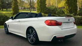 2015 BMW 4 Series 428i M Sport 2dr Automatic Petrol Convertible