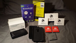 NEVER Charge a LG G3 again! Screen protectors, cases. $10 each!