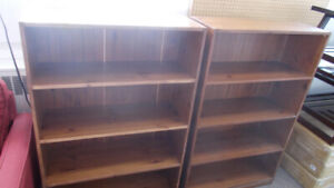 Book cases on sale for $49. Only a few available. 902 464 0010