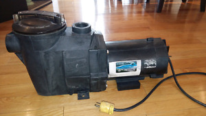 Moteur de piscine turbo injection 1.5 hp