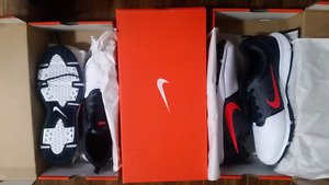 Brand new mens nike golf shoes