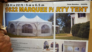 16'x22' NEW party tents