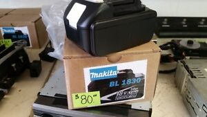 Makita bl 1830 3.0ah 18v battery new.