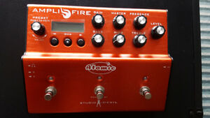Atomic Amplifire modeling pedal - like new